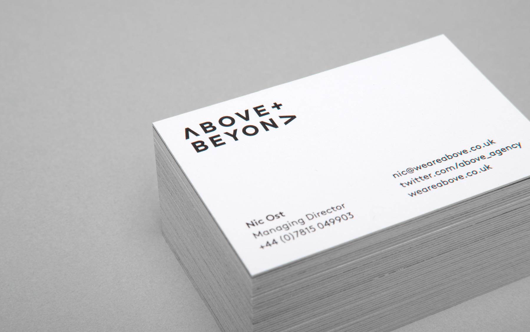 Above+Beyond – Designed by Karoshi